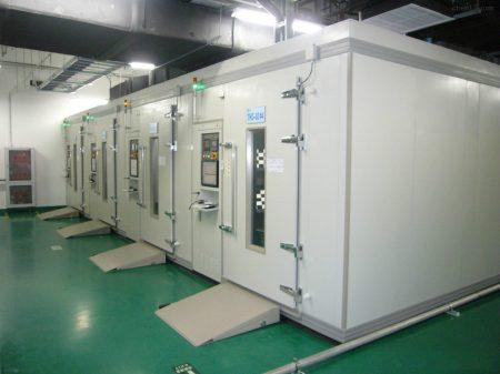 KSD步入式恒温恒湿试验房进驻珠海优特智厨公司
