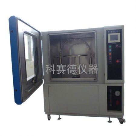 IPX34淋雨试验箱的摆管安装流程