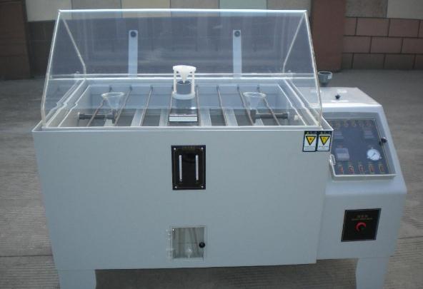 如何将测试样品放入盐雾试验箱?