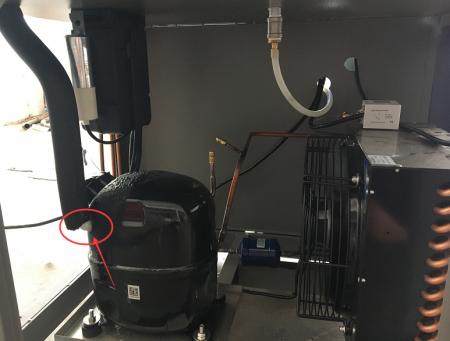 恒温恒湿试验箱压缩机结霜的原因